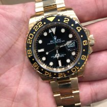 Rolex GMT-Master II Yellow gold 40mm Black No numerals UAE, Abu Dhabi