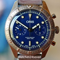 Oris Carl Brashear 21mm Blue United States of America, Missouri, Chesterfield