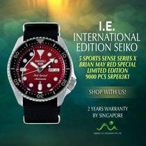 Seiko 5 Sports Acier 42.5mm Sans chiffres