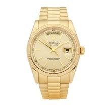 Rolex 118238 Oro amarillo 2000 Day-Date 36 36mm usados