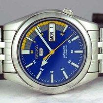 Seiko 5 Сталь 37.5mm Синий