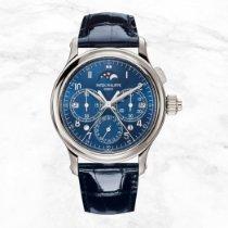 Patek Philippe Perpetual Calendar Chronograph Platinum 38.3mm Blue Arabic numerals