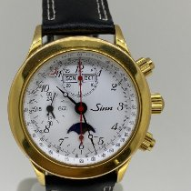 Sinn Yellow gold 39mm pre-owned