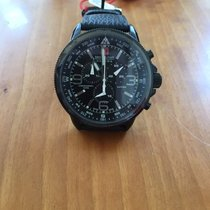 Swiss Military Acier 46mm Quartz Swiss Military Hanowa Arrow chrono 6-4224.13.007 nouveau