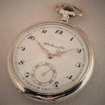 H.Moser & Cie. Reloj usados 1920 Plata 52mm Arábigos Cuerda manual Solo el reloj