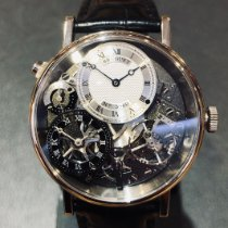 Breguet Tradition Witgoud 40mm Zilver Romeins