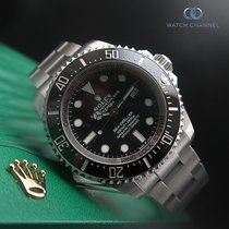 Rolex Sea-Dweller Deepsea Steel 44mm Black No numerals South Africa, Johannesburg