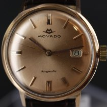 Movado Kingmatic Or jaune 34mm