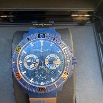 Ulysse Nardin Diver Black Sea Steel 45.8mm Blue No numerals