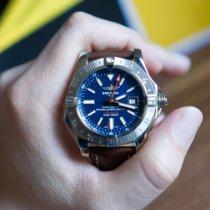 Breitling Avenger II GMT Stahl 43mm Blau Arabisch Deutschland, Bammental