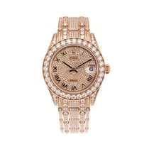 Rolex Pearlmaster Or rose 34mm