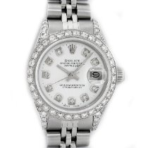 Rolex Oyster Perpetual Lady Date Steel 26mm White United States of America, California, Los Angeles