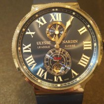 Ulysse Nardin Marine Chronometer 43mm Сталь Синий Россия, Moscow