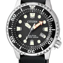 Citizen Steel 33.5mm Quartz EP6050-17E new
