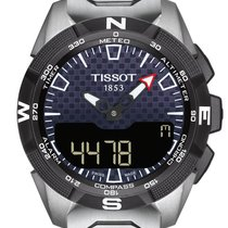 Tissot T-Touch Expert Solar neu Quarz Chronograph Uhr mit Original-Box und Original-Papieren T110.420.44.051.00