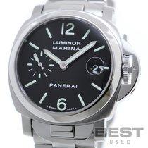 Panerai Luminor Marina Automatic Steel 40mm Black
