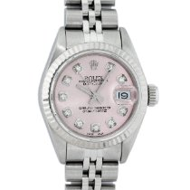Rolex Lady-Datejust Steel 26mm Pink No numerals United States of America, California, Los Angeles
