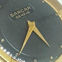 Sarcar Stahl 33mm Handaufzug Sarcar Geneve Rare Dial Black Nido d' Ape 33mm G.F. 18kt gebraucht
