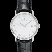 Blancpain Villeret Ultra-Slim Steel 40mm White United States of America, California, Burlingame