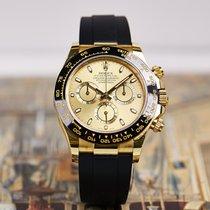 Rolex Daytona 劳力士 116518 Очень хорошее Желтое золото 40mm Автоподзавод