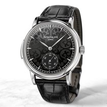 Patek Philippe Minute Repeater Белое золото 38mm Белый