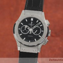 Hublot Titanium Automatic Black 42mm pre-owned Classic Fusion Chronograph