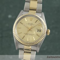 Rolex Oyster Perpetual Date Or/Acier 34mm Or