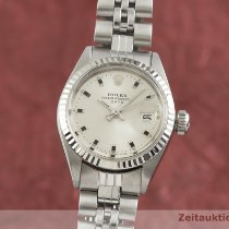 Rolex Lady-Datejust Zlato/Zeljezo 26mm Srebro