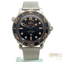 Omega Seamaster Diver 300 M Titanio 42mm Marrón Sin cifras