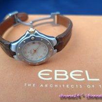 Ebel gebraucht Quarz 28mm Weiß Saphirglas