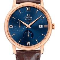 Omega De Ville Prestige Oro rosa 39.5mm Azul