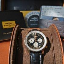 Breitling Navitimer 01 Rose gold 43mm Black No numerals