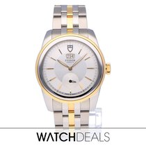 Tudor Glamour Double Date Staal 27mm Parelmoer Nederland, Amsterdam