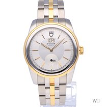 Tudor Glamour Double Date Steel 27mm Mother of pearl
