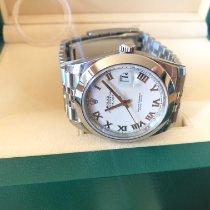 Rolex Datejust II Acero Blanco Romanos