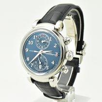 IWC Da Vinci Chronograph Çelik 42mm Mavi Arap rakamları Türkiye, ANKARA