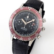 Wittnauer 鋼 40mm 手動發條 Wittnauer Stainless Steel 7004A Manual Wind Chronograph with Rotating Bezel 二手 香港, Quarry Bay