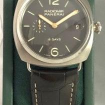 Panerai Radiomir 8 Days Titanium 45mm Black Arabic numerals