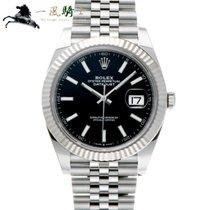 Rolex Datejust nuevo 2019 Automático Reloj con estuche y documentos originales 126334