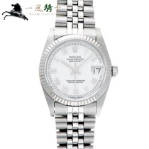 Rolex Lady-Datejust Acero 31mm Blanco