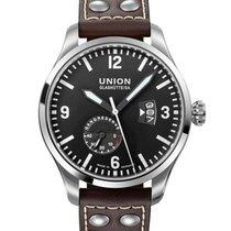 Union Glashütte Belisar Pilot Steel 45mm Black Arabic numerals