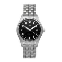 IWC Pilot's Watch Automatic 36 Steel 36mm Black Arabic numerals United States of America, Pennsylvania, Bala Cynwyd