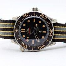 Omega Seamaster Diver 300 M Tytan 42mm Brązowy Bez cyfr