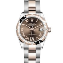 Rolex Lady-Datejust Rose gold 31mm Brown Roman numerals South Africa, Johannesburg