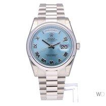 Rolex Day-Date 36 nieuw 2020 Automatisch Horloge met originele doos en originele papieren 118206