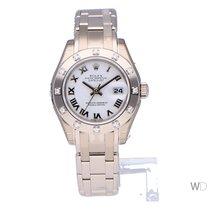 Rolex Lady-Datejust Pearlmaster nuevo 2020 Automático Reloj con estuche y documentos originales 80319