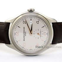Baume & Mercier Clifton Steel 41mm Silver Arabic numerals United States of America, Florida, Aventura