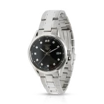 TAG Heuer Carrera Lady pre-owned 27mm Black Steel