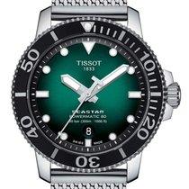 Tissot Seastar 1000 neu 2020 Automatik Uhr mit Original-Box und Original-Papieren T120.407.11.091.00