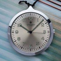 Junghans Uhr neu 1975 Stahl 43.3mm Handaufzug Uhr mit Original-Box